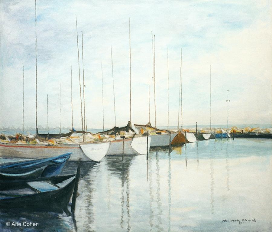 Boats in Akko • סירות בנמל עכו