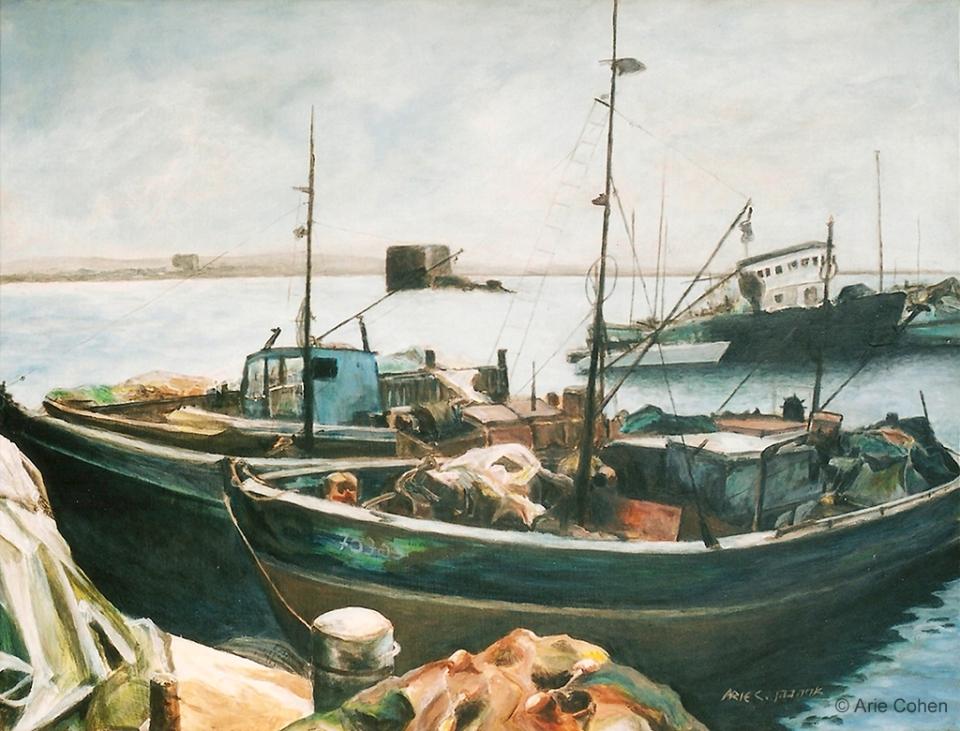 Fishermen boats in Akko • סירות דייג בעכו